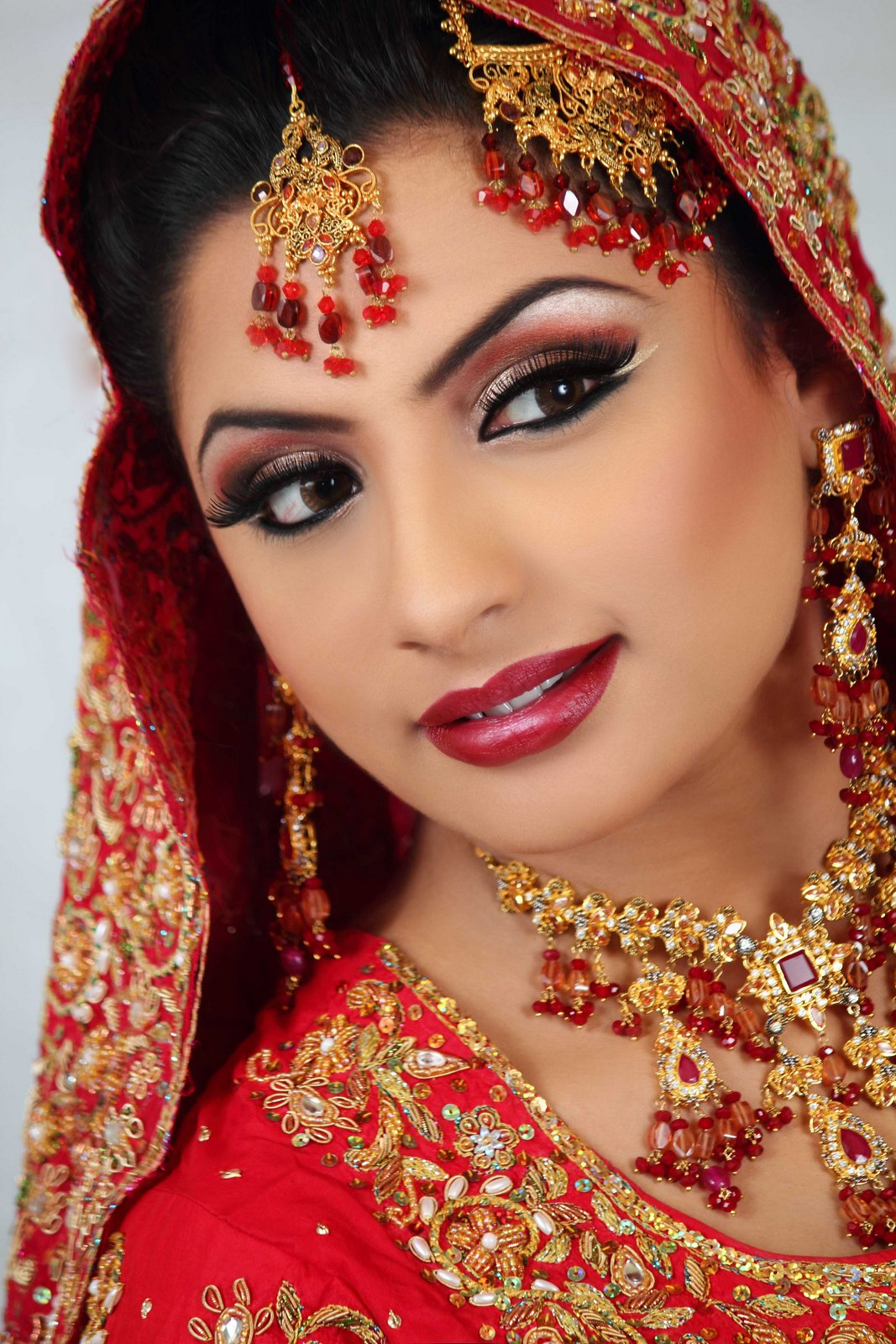 bridal makeup gallery - pinky's bride